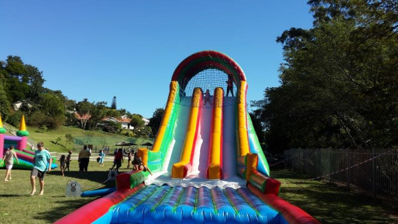 water slide jumping castle hire kzn durban