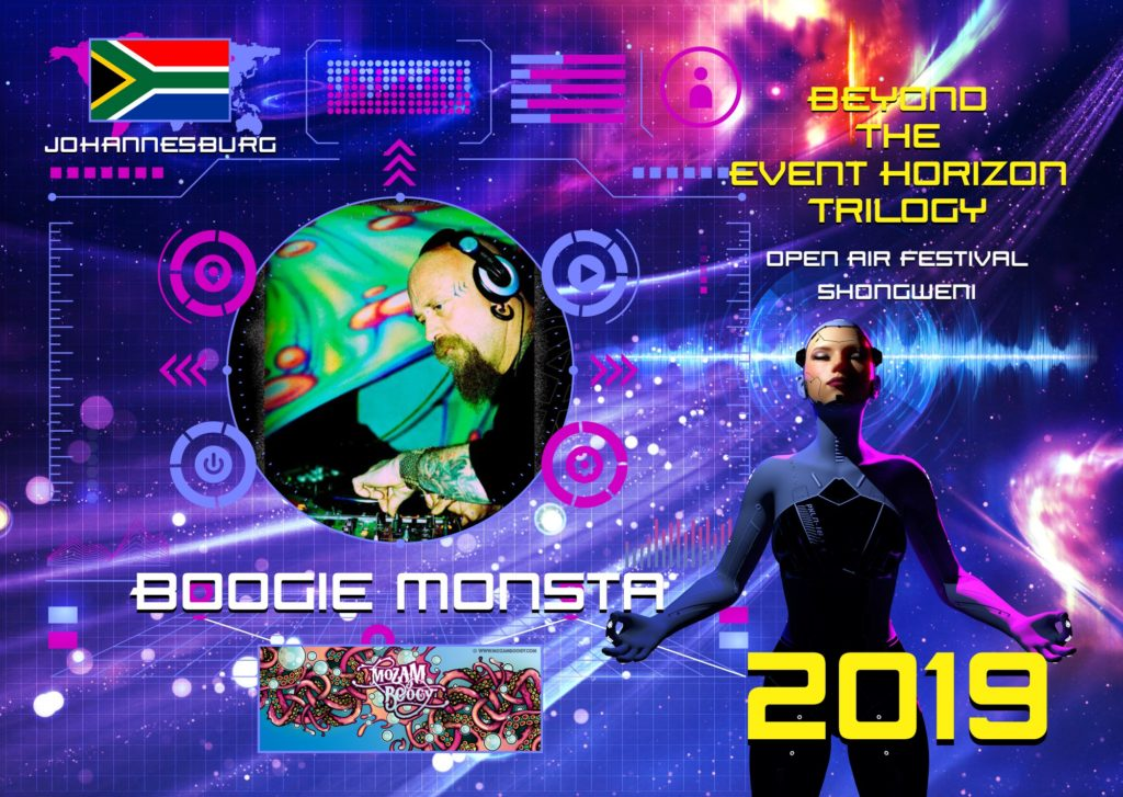 Boogie Monsta DJ - JHB Headliner