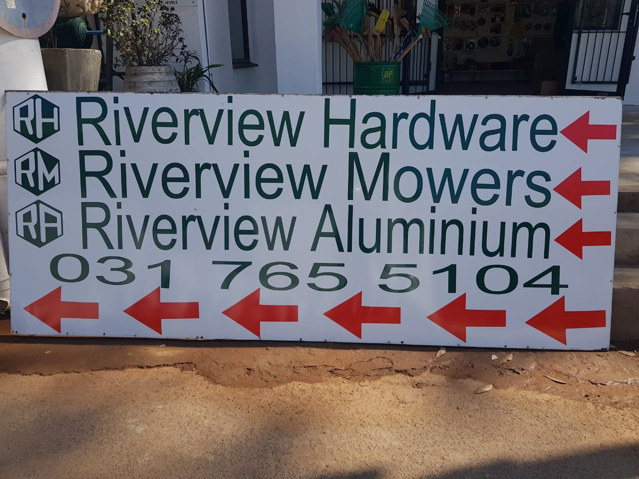 river view aluminium mowers hardware