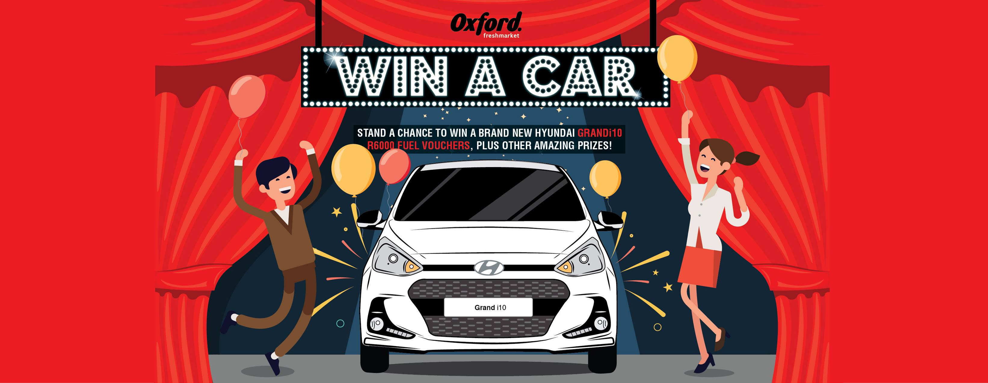 WIN A CAR with Oxford Freshmarket
