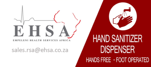 Touchless hand sanitizer systems dispensers kzn